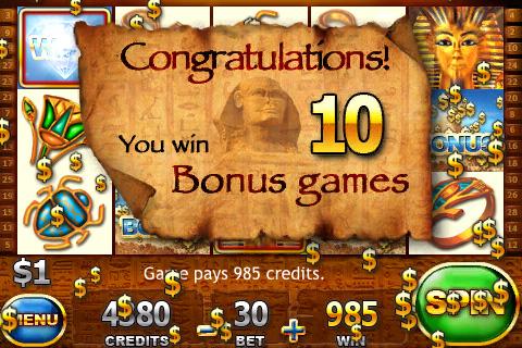 Screenshot Slot Trainer – Pyramids of Giza SALE